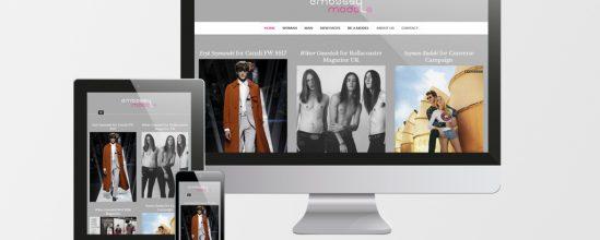 Produkcja strony agencji modelek